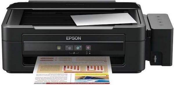 Сброс памперса Epson L110