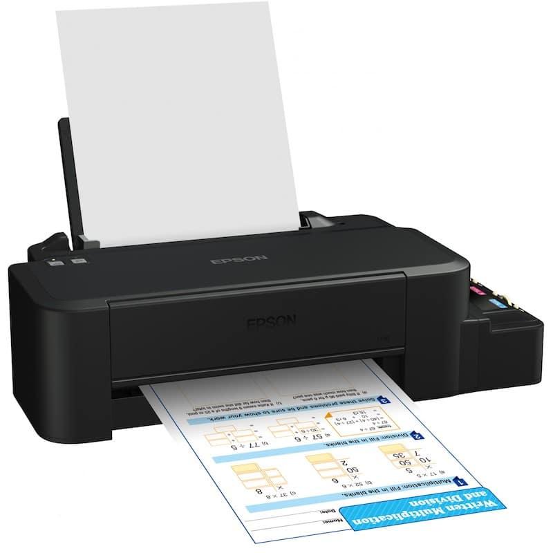 Сброс памперса Epson L120 и прошивка принтера