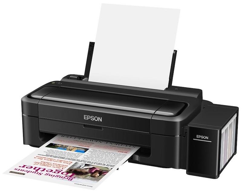 Сброс памперса Epson L130 и прошивка принтера