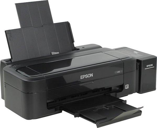 Сброс памперса Epson L132