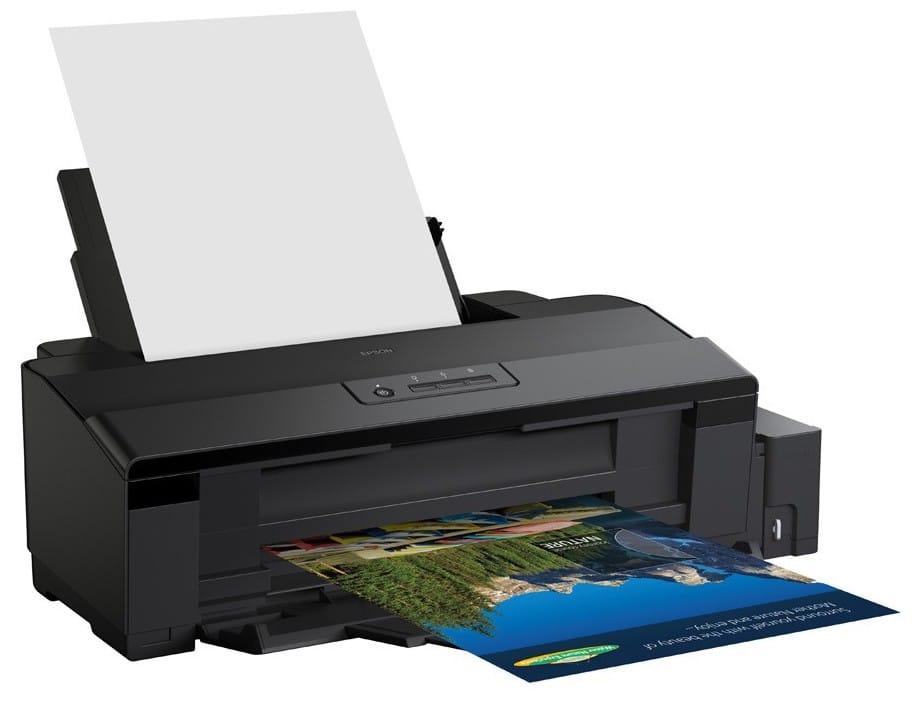 Сброс памперса Epson L1800 и прошивка принтера