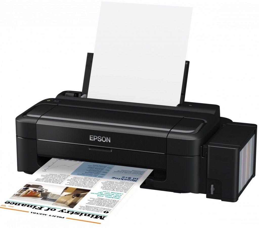 Сброс памперса Epson L300 и прошивка принтера