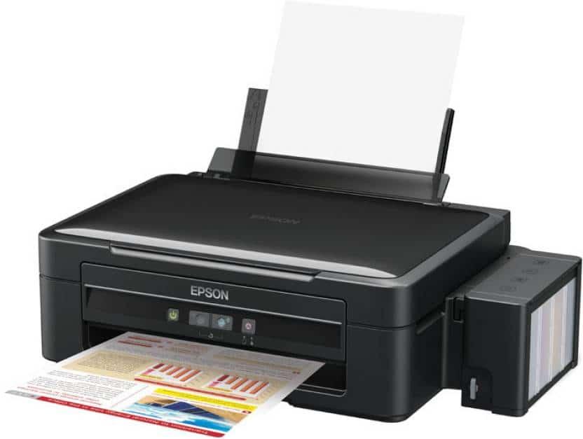 Сброс памперса Epson L350 и прошивка принтера