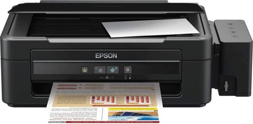Сброс памперса Epson L355 и прошивка принтера
