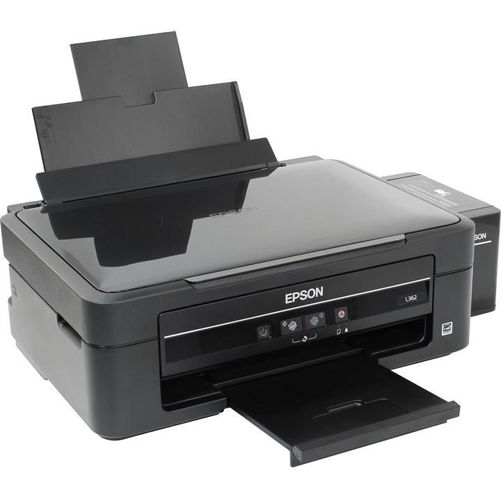 Сброс памперса Epson L362 и прошивка принтера