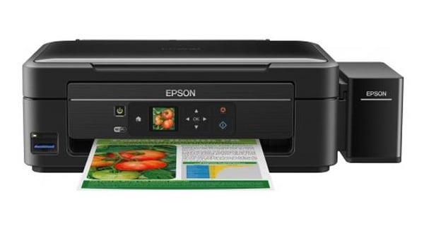 Сброс памперса Epson L456 и прошивка принтера