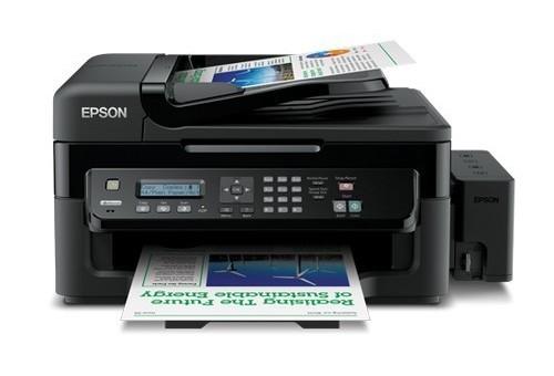 Сброс памперса Epson L550 и прошивка принтера
