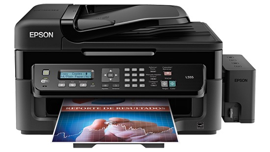 Сброс памперса Epson L555 и прошивка принтера