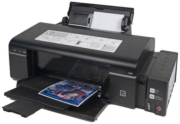 Сброс памперса Epson L800 и прошивка принтера