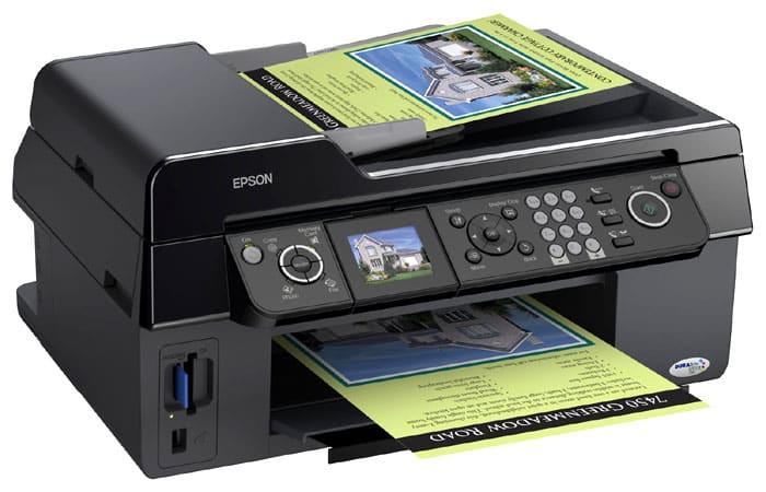 Сброс памперса Epson Stylus CX9300F