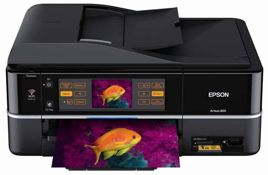 Сброс памперса Epson Artisan 800 и прошивка принтера