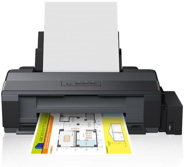 Сброс памперса Epson EcoTank ET-14000 и прошивка принтера