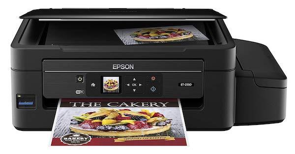 Сброс памперса Epson EcoTank ET-2550 и прошивка принтера