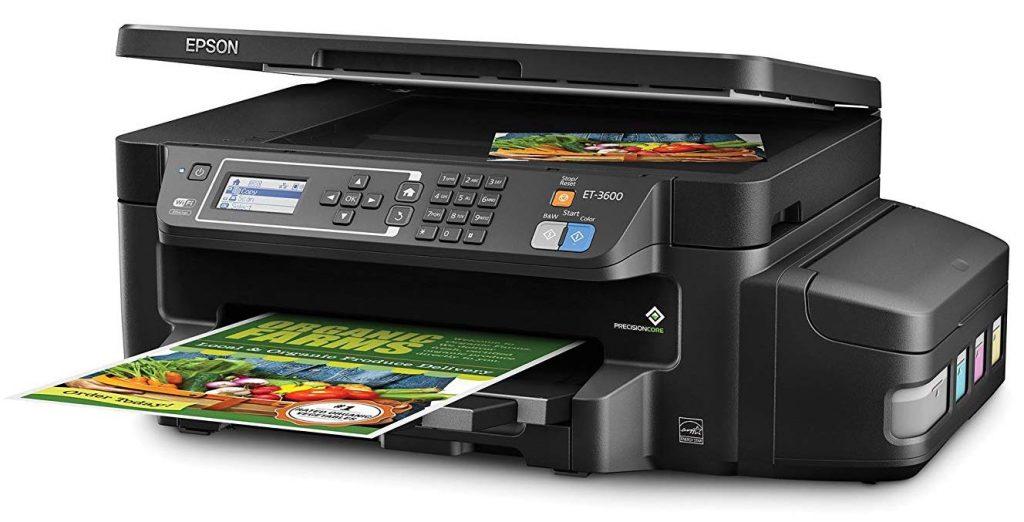 Сброс памперса Epson EcoTank ET-3600 и прошивка принтера