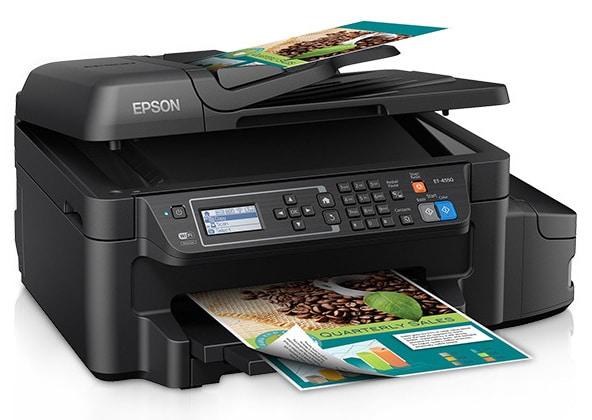 Сброс памперса Epson EcoTank ET-4550 и прошивка принтера
