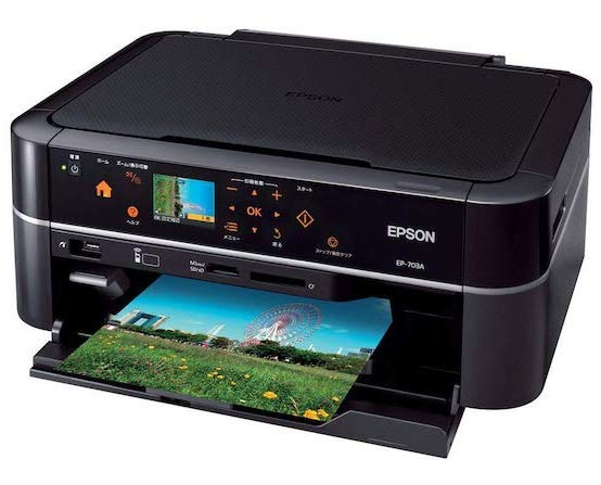 Сброс памперса Epson EP-703A и прошивка принтера