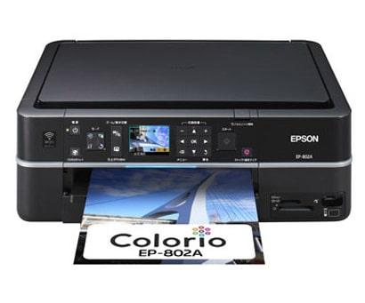 Сброс памперса Epson EP-802A
