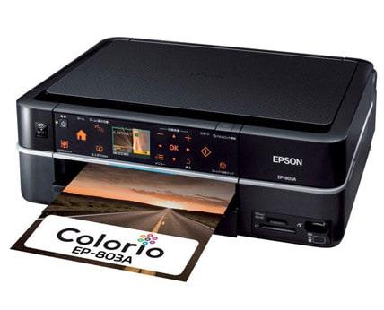 Сброс памперса Epson EP-803A и прошивка принтера