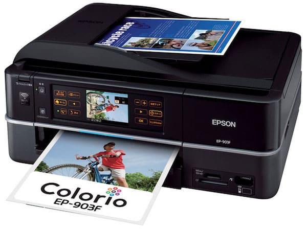 Сброс памперса Epson EP-903F и прошивка принтера