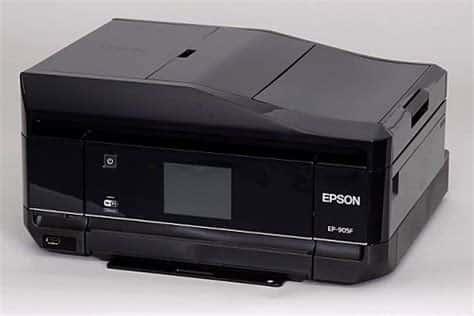 Сброс памперса Epson EP-905F