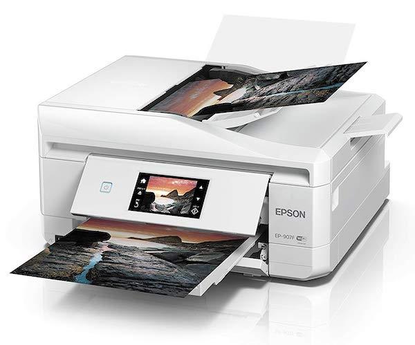 Сброс памперса Epson EP-907F и прошивка принтера