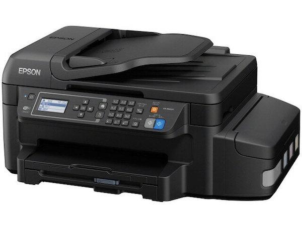 Сброс памперса Epson EW-M660FT и прошивка принтера