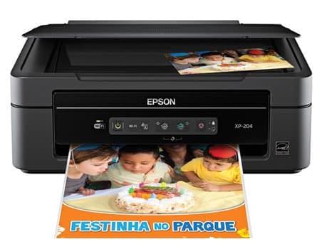Сброс памперса Epson Expression Home XP-204 и прошивка принтера