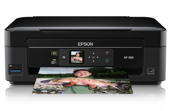 Сброс памперса Epson Expression Home XP-300 и прошивка принтера