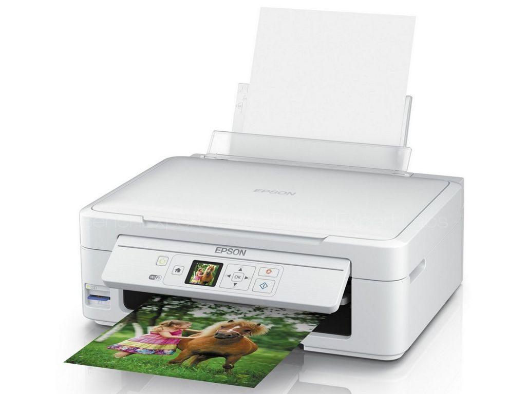 Сброс памперса Epson Expression Home XP-335 и прошивка принтера