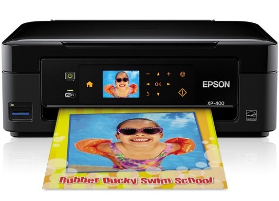 Сброс памперса Epson Expression Home XP-400 и прошивка принтера