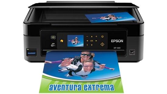 Сброс памперса Epson Expression Home XP-401 и прошивка принтера