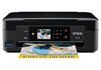 Сброс памперса Epson Expression Home XP-410 и прошивка принтера