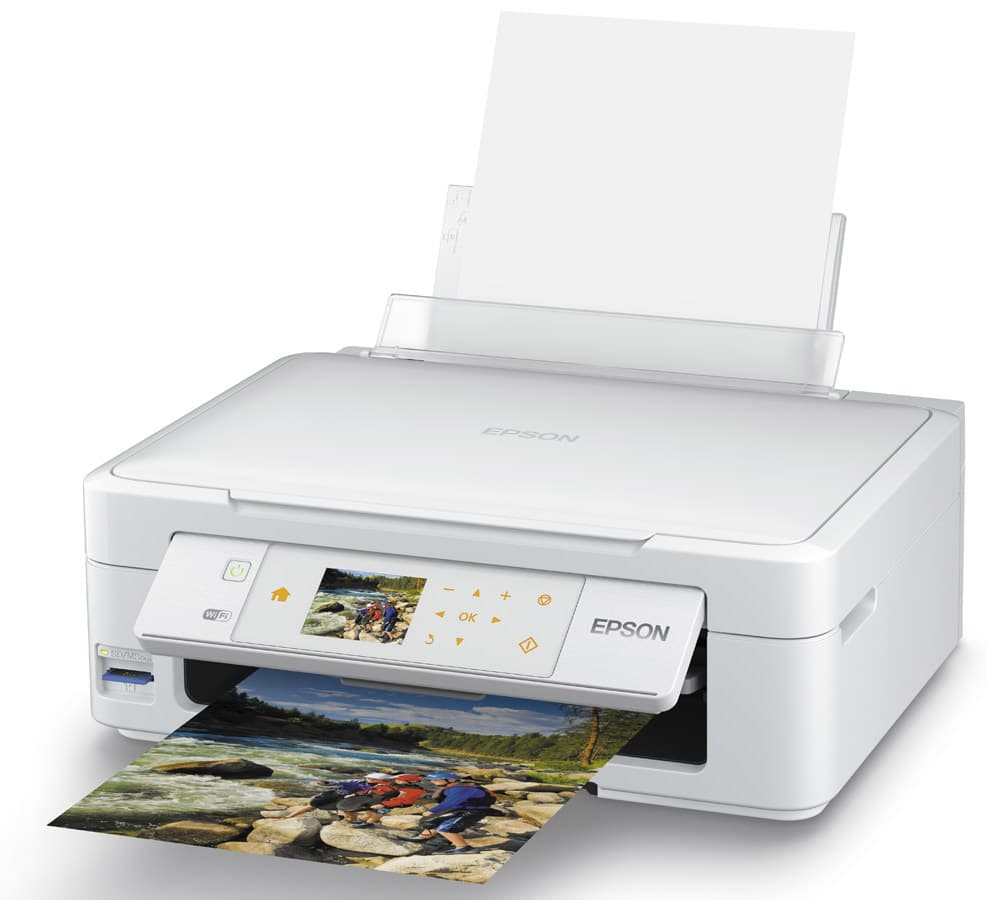 Сброс памперса Epson Expression Home XP-415 и прошивка принтера
