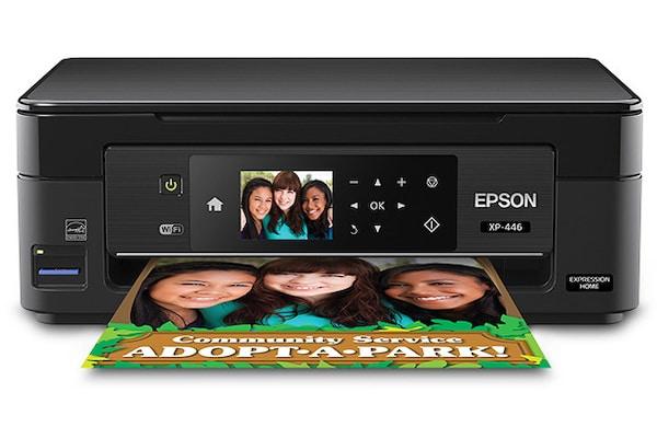 Сброс памперса Epson Expression Home XP-446 и прошивка принтера