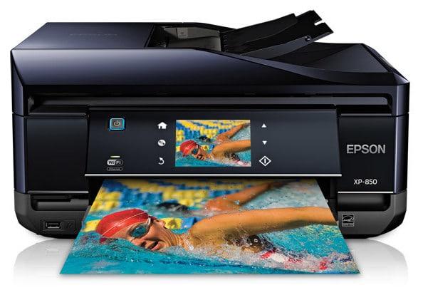 Сброс памперса Epson Expression Photo XP-850 и прошивка принтера