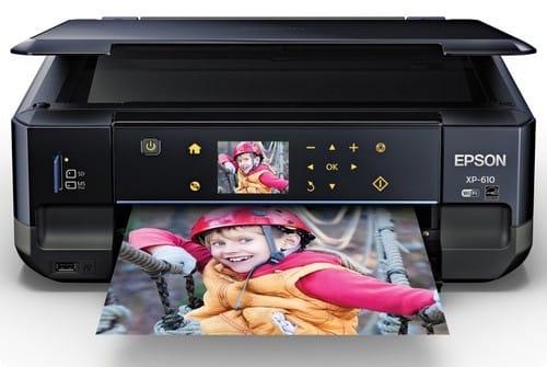 Сброс памперса Epson Expression Premium XP-610 и прошивка принтера