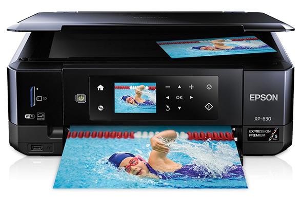Сброс памперса Epson Expression Premium XP-630 и прошивка принтера
