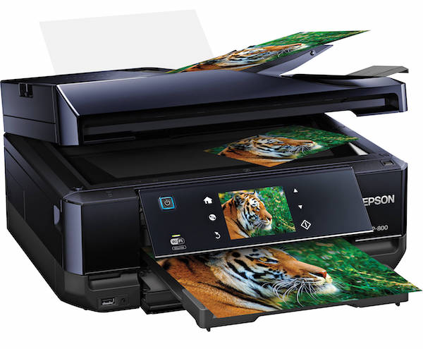 Сброс памперса Epson Expression Premium XP-800 и прошивка принтера