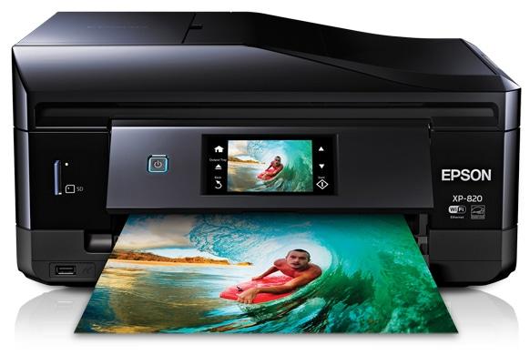 Сброс памперса Epson Expression Premium XP-820 и прошивка принтера