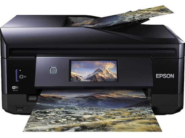 Сброс памперса Epson Expression Premium XP-830 и прошивка принтера