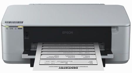 Сброс памперса Epson K100