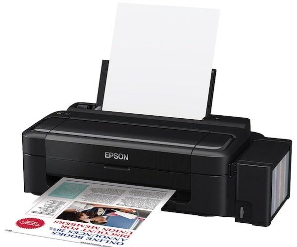 Сброс памперса Epson L111 и прошивка принтера