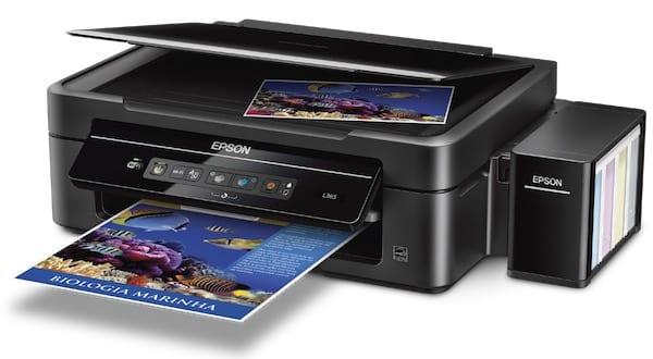 Сброс памперса Epson L365 и прошивка принтера