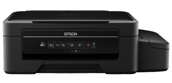 Сброс памперса Epson L375 и прошивка принтера