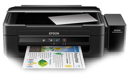 Сброс памперса Epson L380