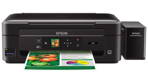 Сброс памперса Epson L455 и прошивка принтера