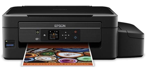 Сброс памперса Epson L475 и прошивка принтера
