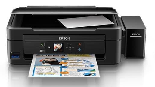 Сброс памперса Epson L485 и прошивка принтера