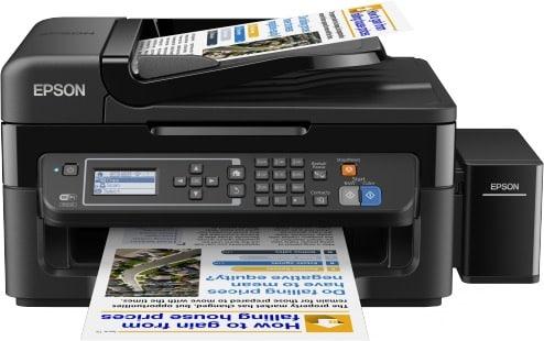 Сброс памперса Epson L565 и прошивка принтера