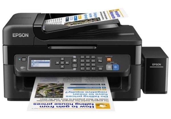 Сброс памперса Epson L566 и прошивка принтера